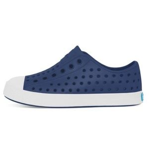 Native Shoes Jefferson Regatta Blue Shell White C6